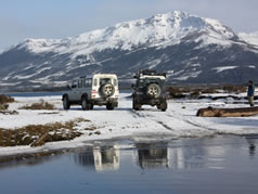 Land Rover 4x4 vehicles